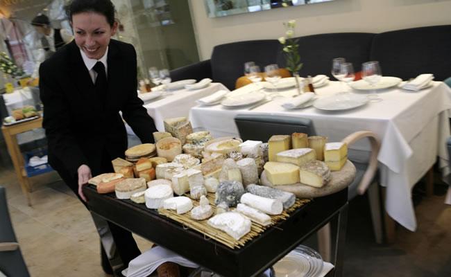 orrery restaurant cheese trolley