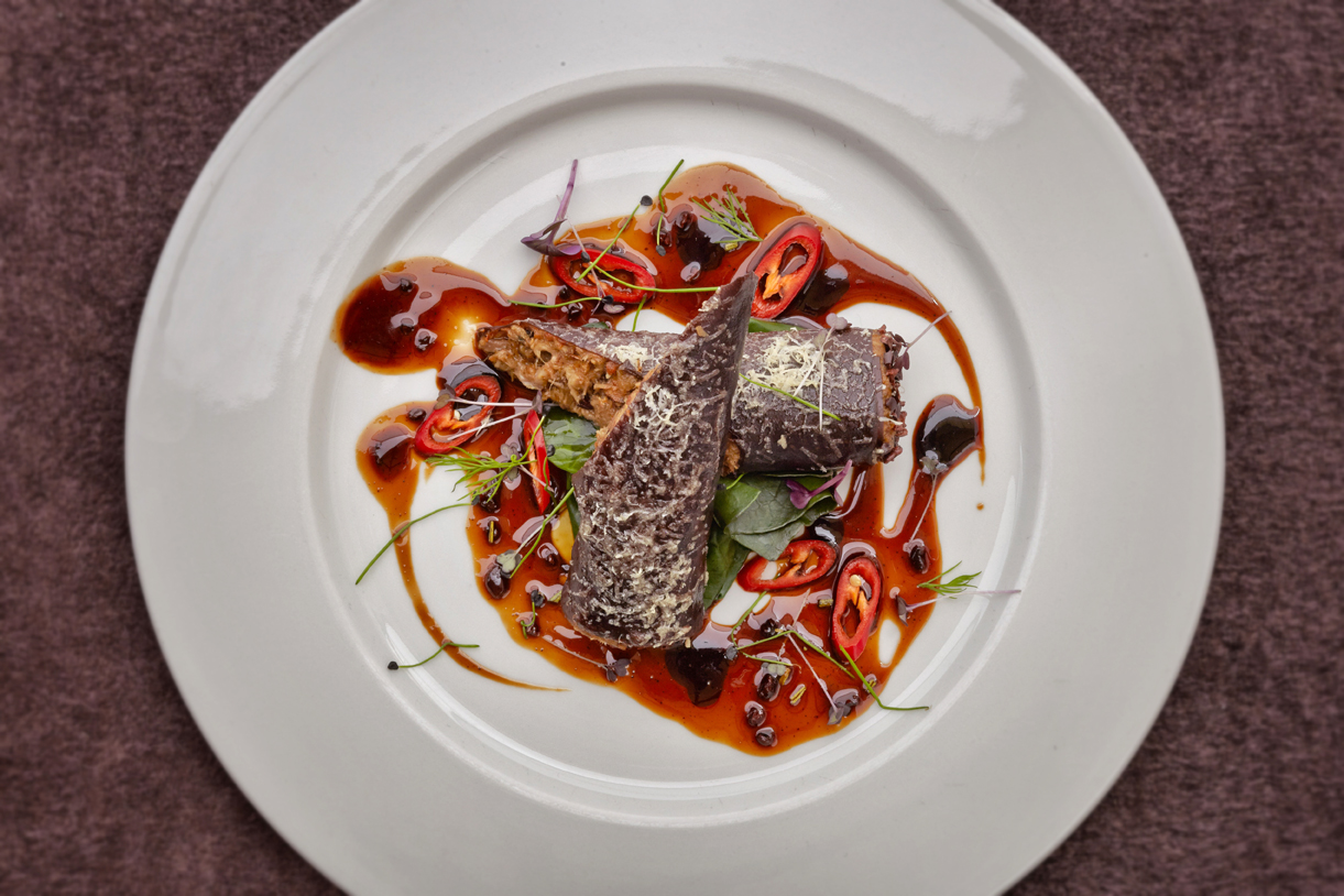Sauterelle restaurant food