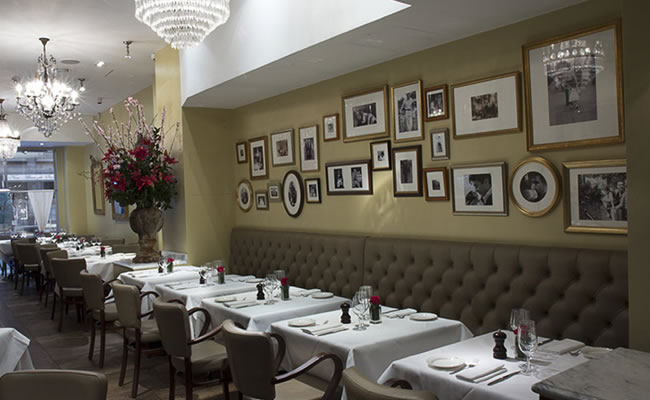 Babbo restaurant inside