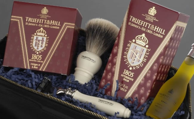 Truefitt and Hill shaving products
