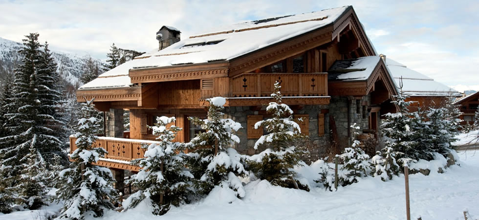 The Les Trois Our Chalet in Meribel
