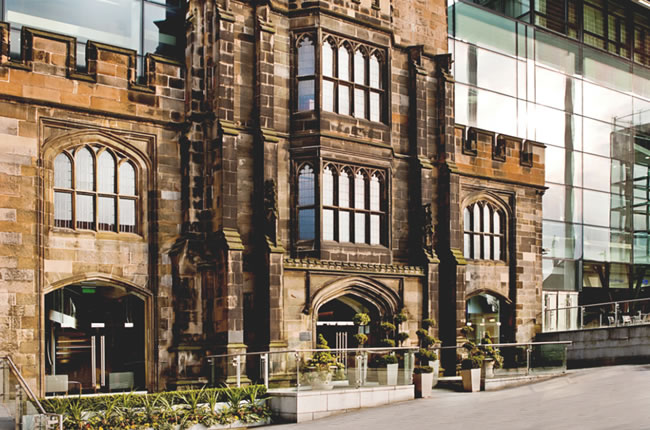 A five-star luxury hotel in Edinburgh city centre