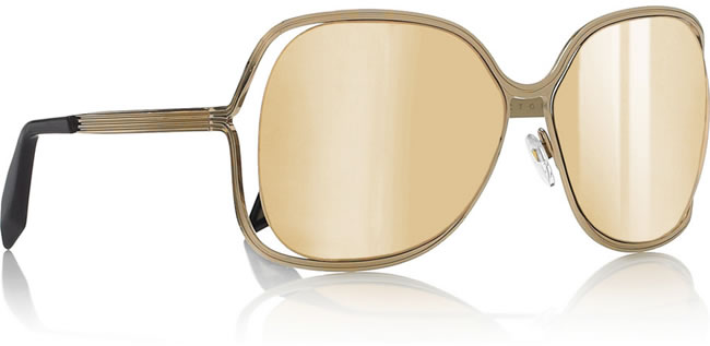 Get the vintage look: 18kt Gold Plated Sunglasses