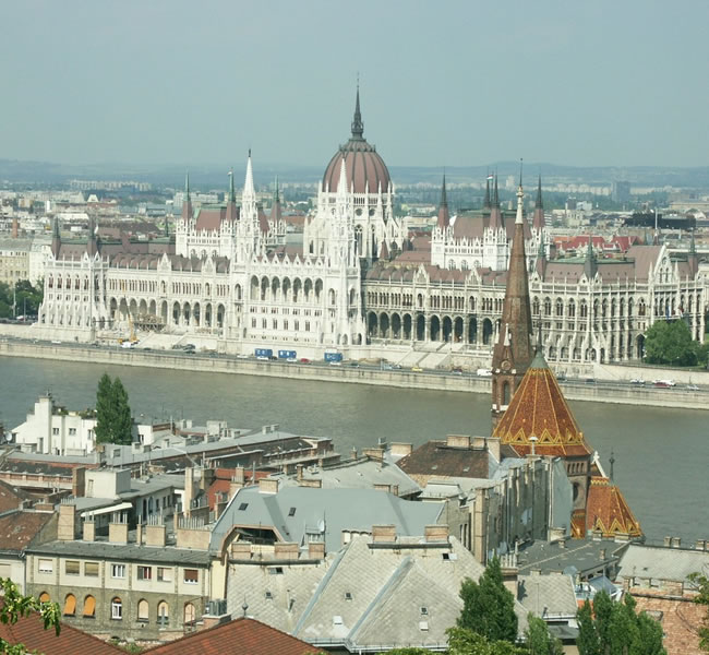 Budapest, Hungary's capital, is bisected by the River Danube. Image copyright: FreeImages.com/Andy Stafiniak