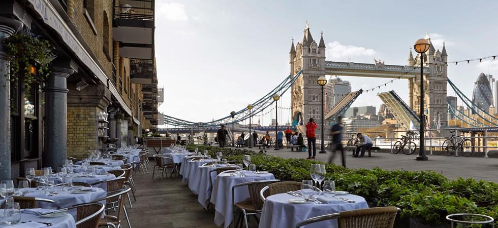 Bar Restaurants River Thames London