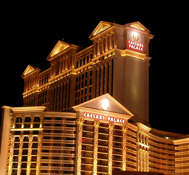 Las Vegas is home to Caesars Palace. Image copyright: FreeImages.com/Joakim Syversen