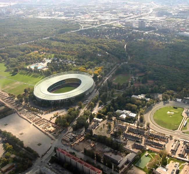 Ernst Happel Stadion in Vienna. Image copyright: FreeImages.com/Remy van Donk