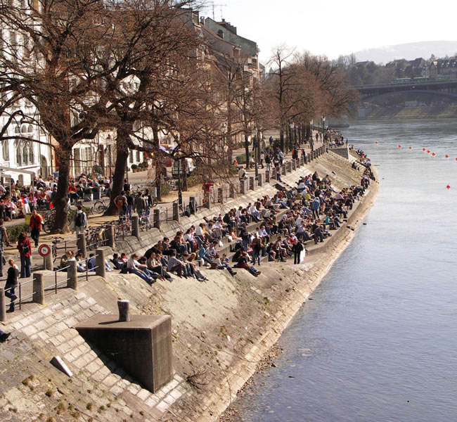 The Rhine river is very popular with tourists. Image copyright: FreeImages.com/Bianka Marton