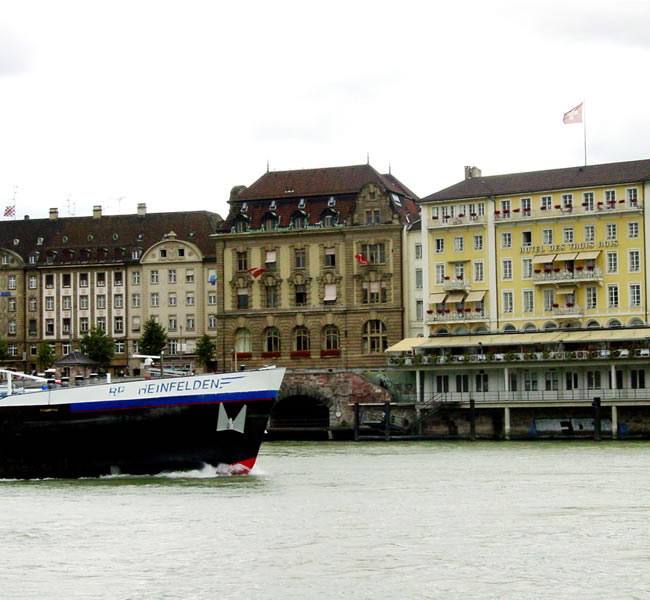 Basel is Switzerland's third most populous city with about 195,000 inhabitants. Image copyright: FreeImages.com/Walter Wisler