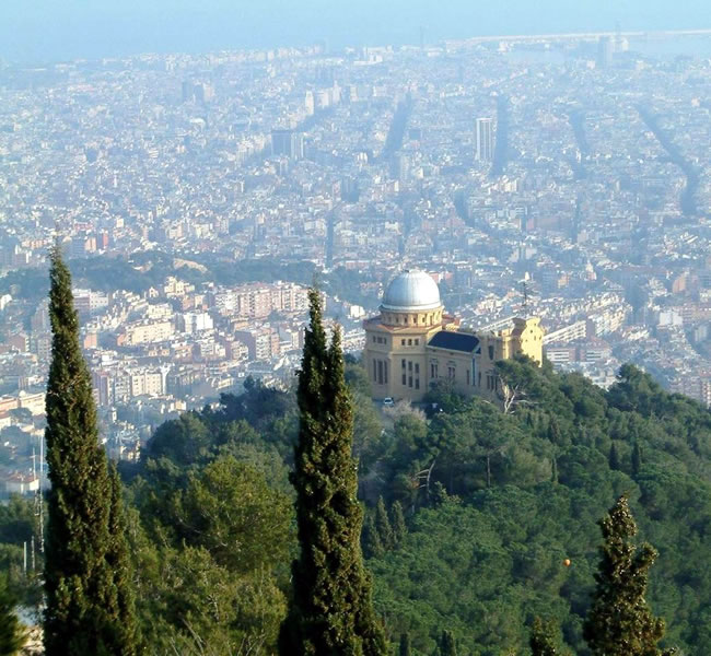 A lovely view over beautiful Barcelona Copyright: FreeImages.com/Andrew Martin