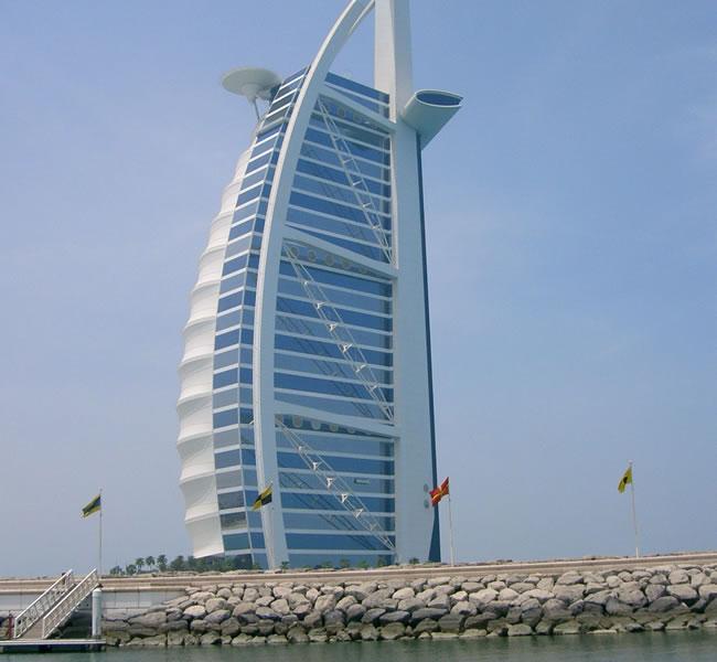 Burj Al Arab. Image copyright: FreeImages.com/Jaffer Dhanji