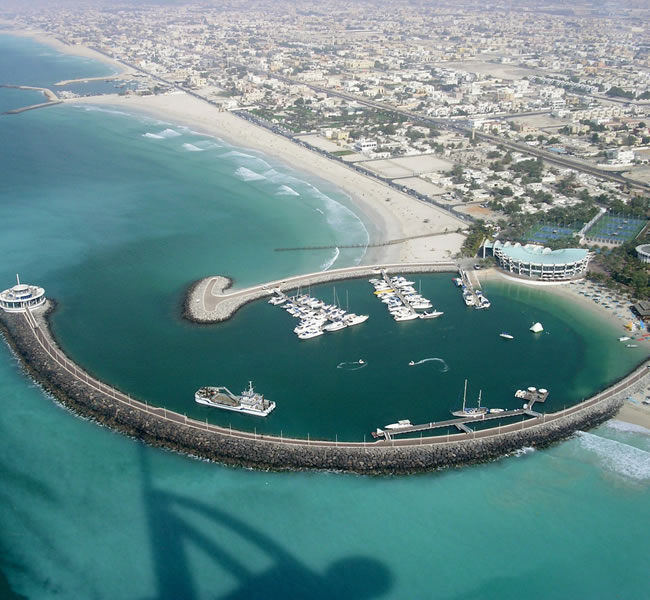 View from the Burj Al Arab. Image copyright: FreeImages.com/James Stratton