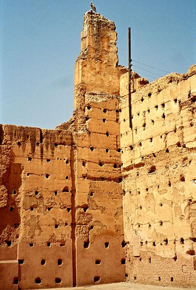 Badii Palace in Marrakech, Morocco. Image copyright: FreeImages.com/Image copyright: FreeImages.com/Dinko Verzi