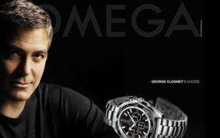 george clooney omega advert