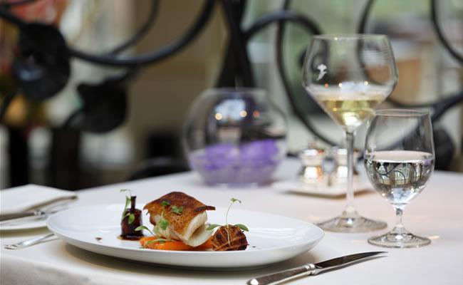 the vineyard hotel food