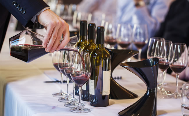 the vineyard wine bottles