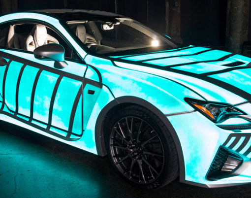 Translating heart rhythms into car aesthetics as Lexus collaborate with M&C Saatchi.