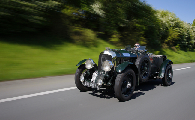 Bentley are set to display the iconic 1930 Bentley Blower at the Monterey Auto Week Quail Rally.