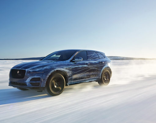 From the Dubai Sun to the Ice of Sweden Jaguar put their F-Pace model to the test.