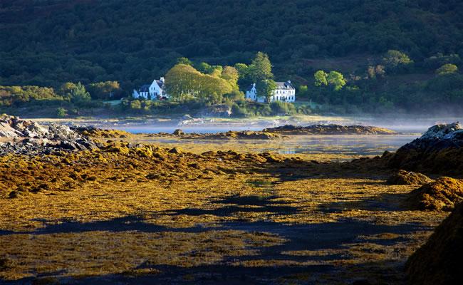 Kinloch Lodge, Isleornsay on the Isle of Skye