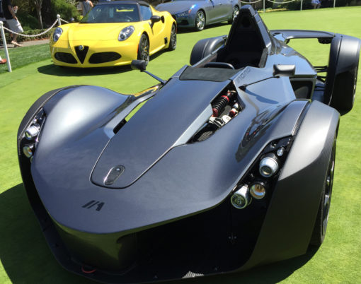 BAC 2016 Model Year Mono makes presence felt at Pebble Beach.