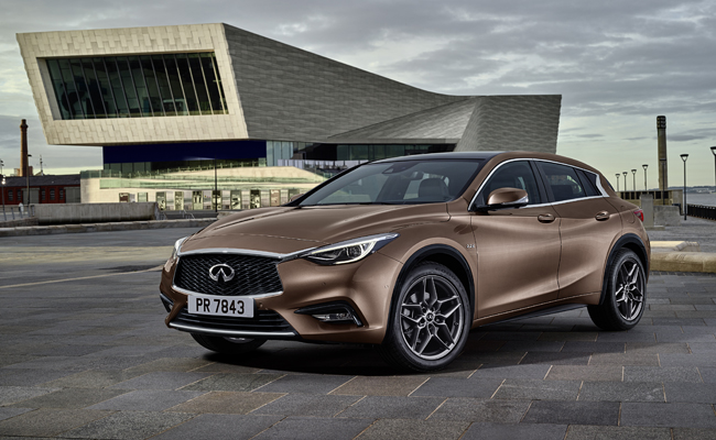 The Q30 Active Compact is set to be revealed exactly two years after the Q30 Concept at Frankfurt International Motor Show.