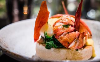 Quaglinos Lobster Muffin