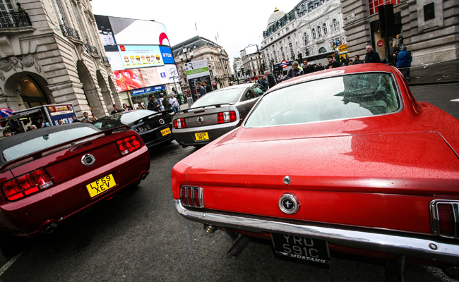 Luxury Motoring throughout the ages available to view for free at the Regent Street Motor Show.