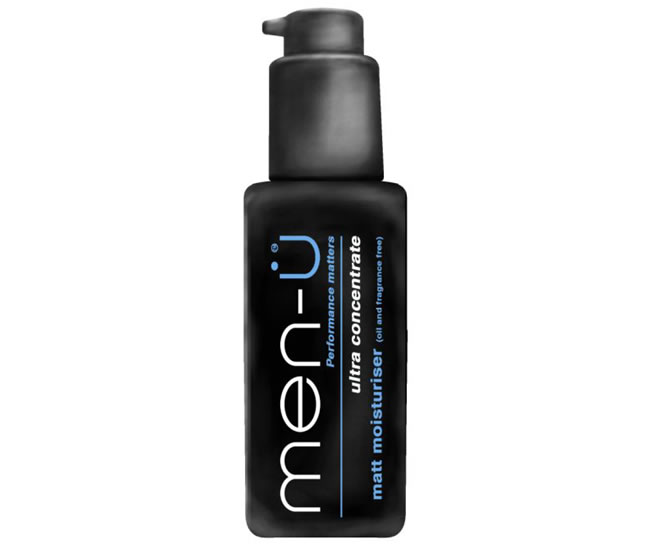 Men-U Matt Moisturiser Oil and Fragrance Free Ultra Concentrated (100ml)