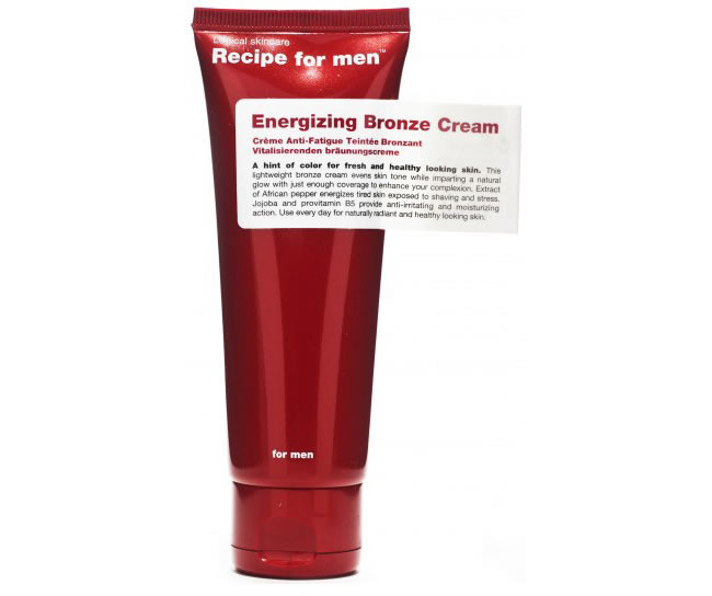 Recipe For Men Energising Bronze Cream (75ml)
