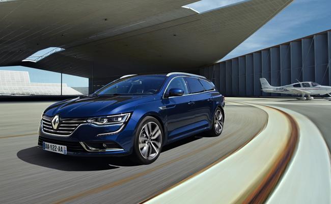 Renault D-segment Talisman Estate set to feature at Frankfurt International Motor Show.