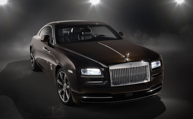 Inspired by Music Wraith Rolls-Royce extends the brands's Rock & Roll love affair.