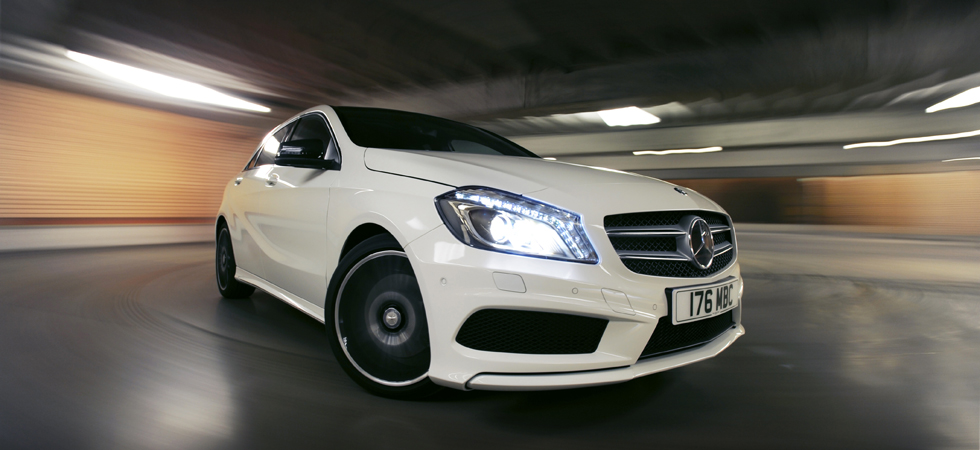 test drive mercedes a180 cdi amg sport luxury lifestyle magazine. Black Bedroom Furniture Sets. Home Design Ideas