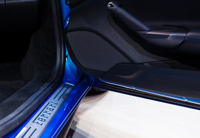 Premium audio designers HARMAN work with Ferrari on the 488 GTB Spider.