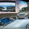 Bentley reveal Bentayga amongst other displays at the Frankfurt Motor Show, IAA.