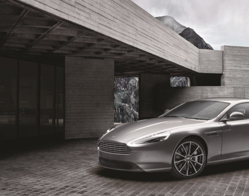 James Bond and Aston Martin celebrate over half a century partnership with James Bond DB9 Edition.