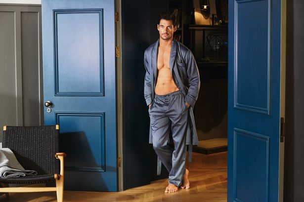david gandy marks and spencers collection