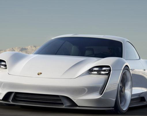 Porsche embraces luxury e-technology.