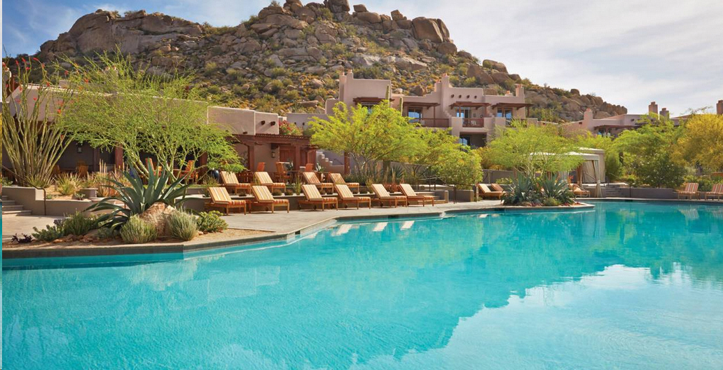 Four Seasons Scottsdale. Copyright Barbara Kraft