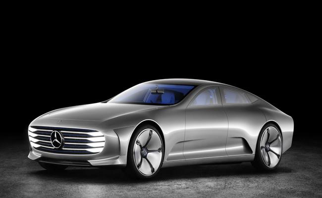 Mercedes-Benz launch their petrol-electric hybrid the IAA at Frankfurt Motor Show.