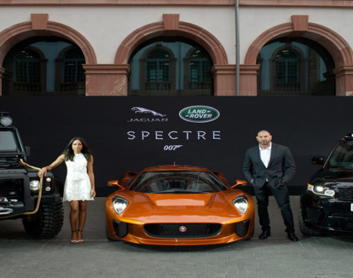 Jaguar, Range Rover and Land Rover are set to steal the show in SPECTRE.