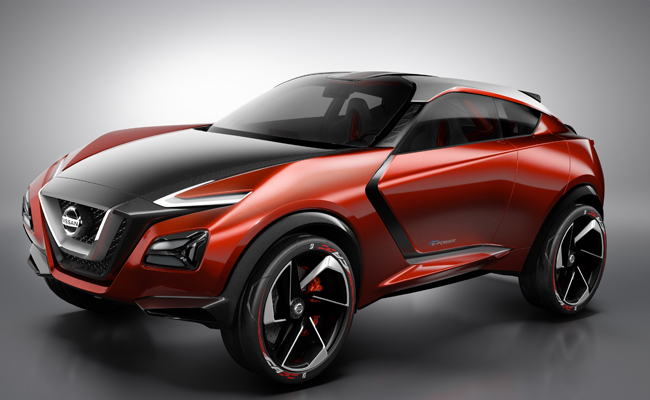 Nissan introduced the Nissan Gripz at the IAA 2015.