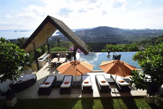 Panacea Koh Samui private villa estate