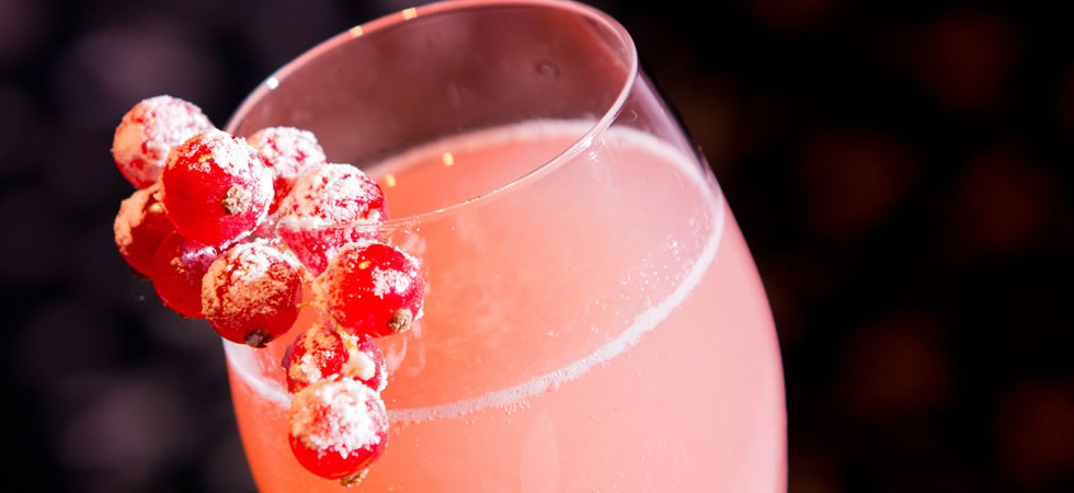 pink ribbon cocktail