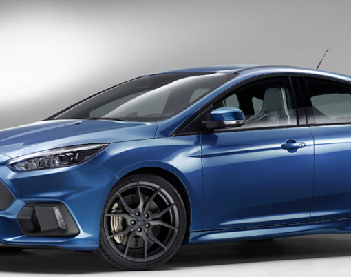 Ford brought the Focus RS to Frankfurt International Motor Show.