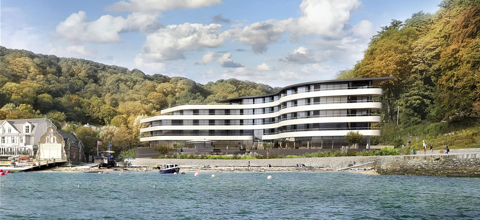 Plans For Luxury 163 12m Seaside Spa Hotel In Salcombe Devon