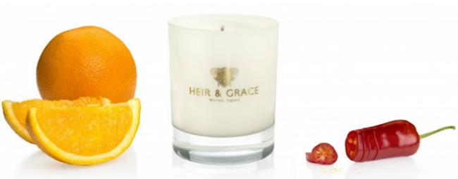 Heir & Grace 'Orange & Chilli' Candle
