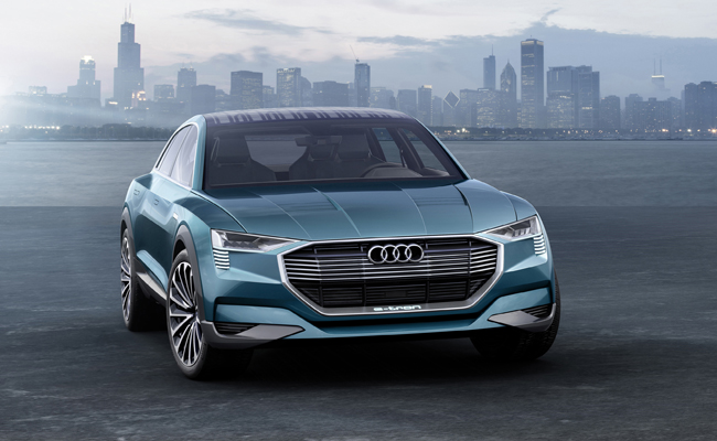 Making waves at IAA, Audi revealed their new SUV model the e-tron quattro.