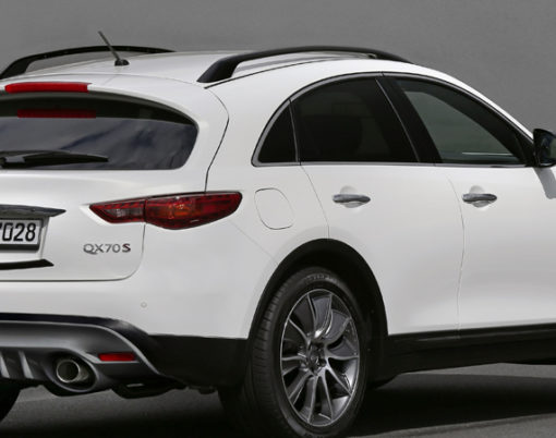 Now on sale the Infiniti QX70 Ultimate is set to impress.