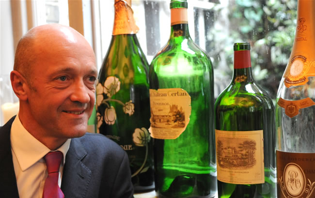 Thierry Tomasin wine expert